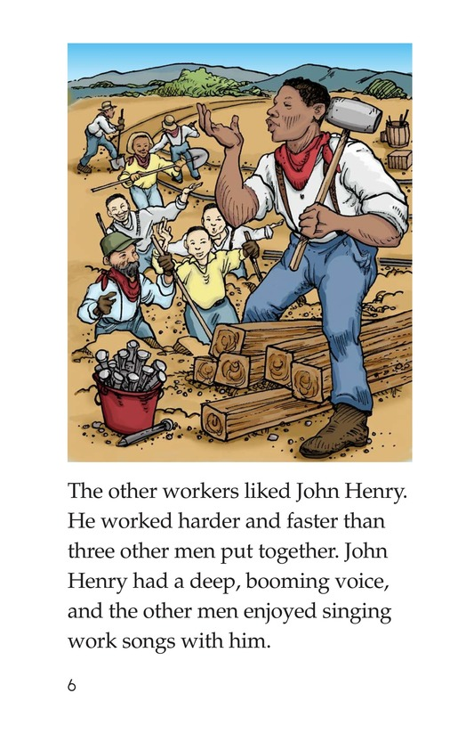 Book Preview For The Legend of John Henry Page 6