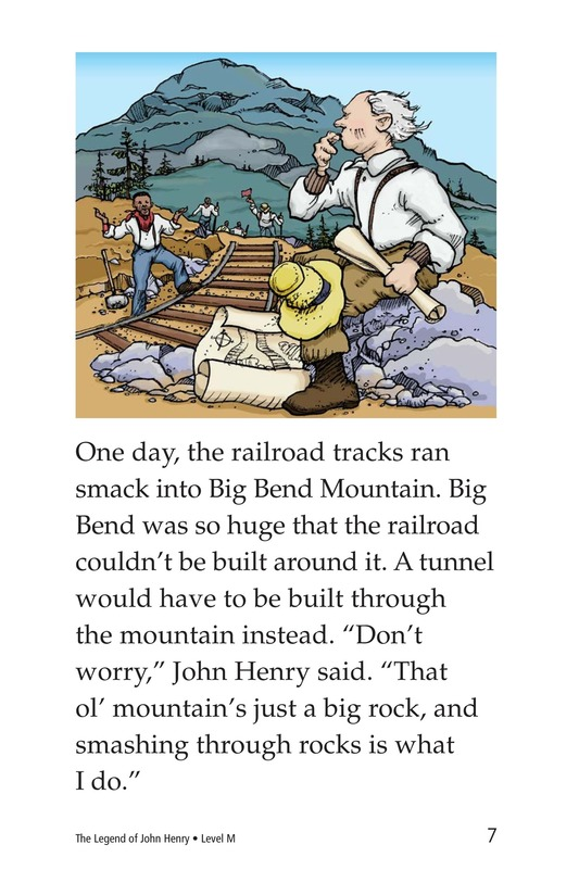 Book Preview For The Legend of John Henry Page 7