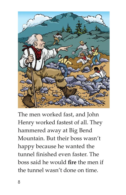 Book Preview For The Legend of John Henry Page 8