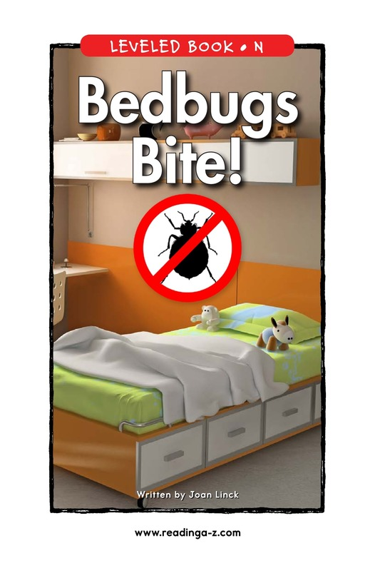 Book Preview For Bedbugs Bite! Page 1