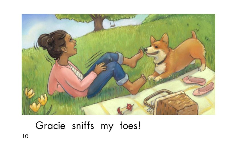 Book Preview For Gracie's Nose Page 10