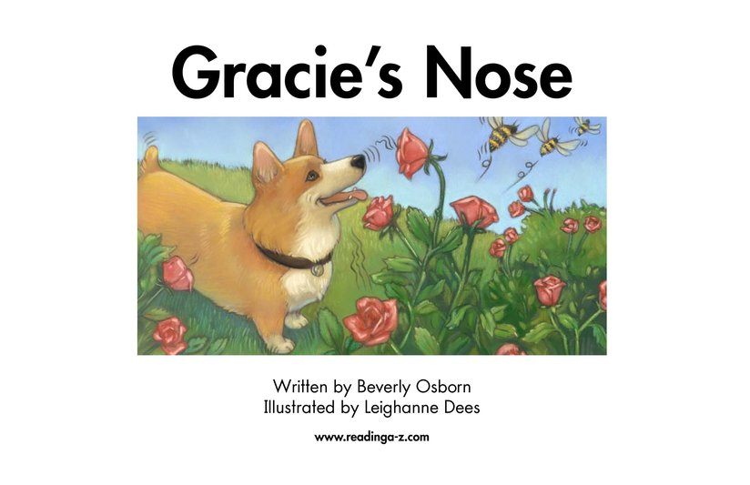 Book Preview For Gracie's Nose Page 2