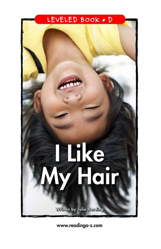 Book Preview For I Like My Hair Page 1