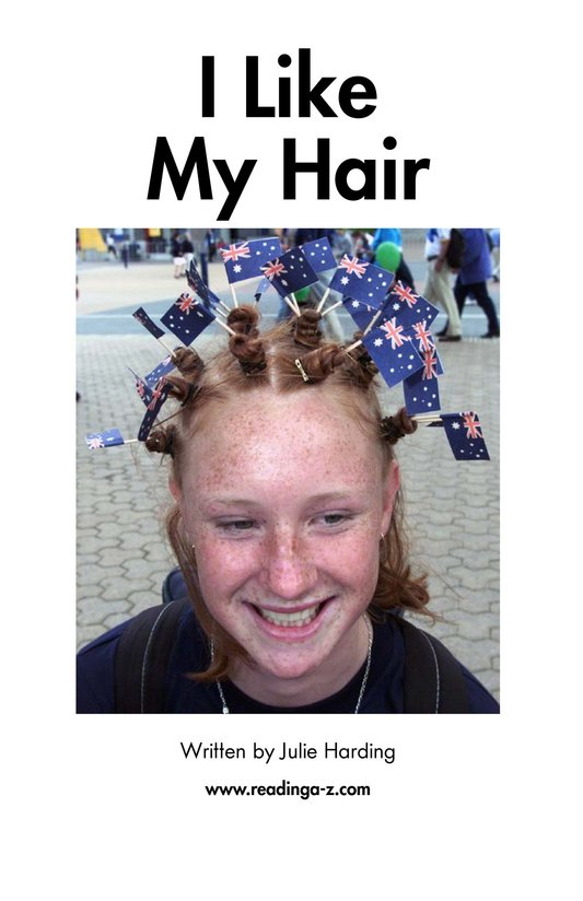 Book Preview For I Like My Hair Page 2