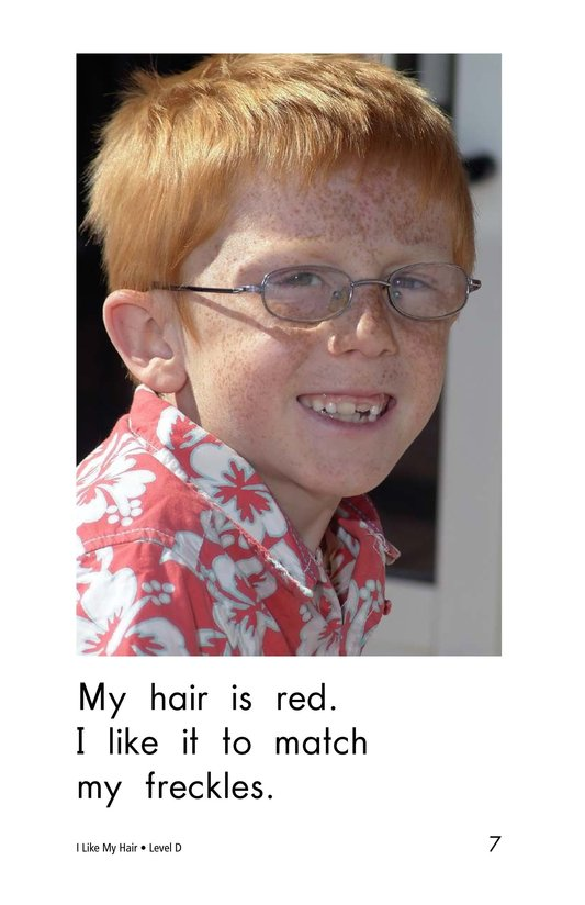 Book Preview For I Like My Hair Page 7