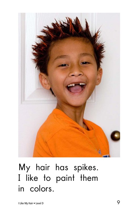 Book Preview For I Like My Hair Page 9