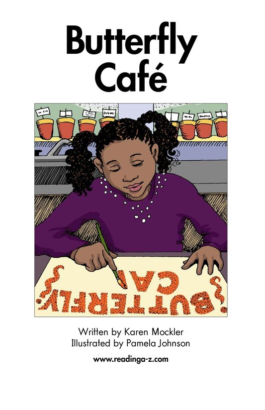 Book Preview For Butterfly Café Page 2
