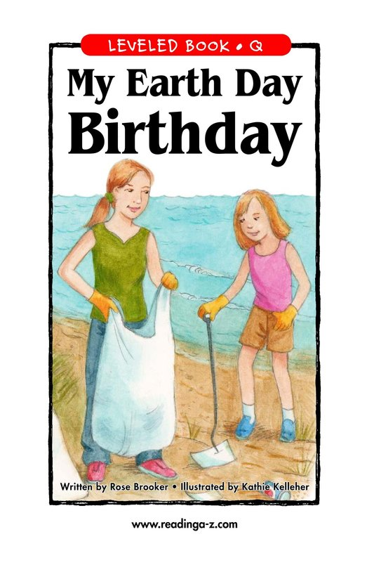 Book Preview For My Earth Day Birthday Page 1
