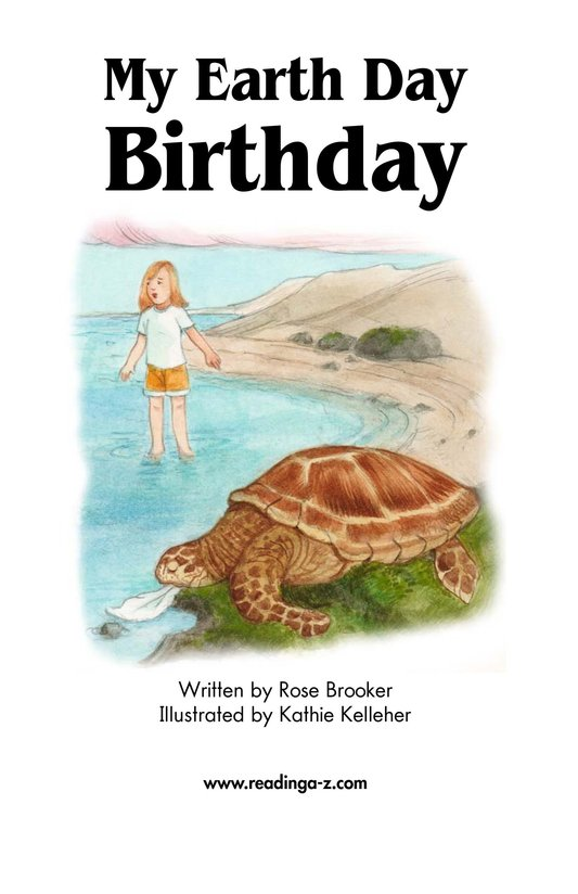 Book Preview For My Earth Day Birthday Page 2