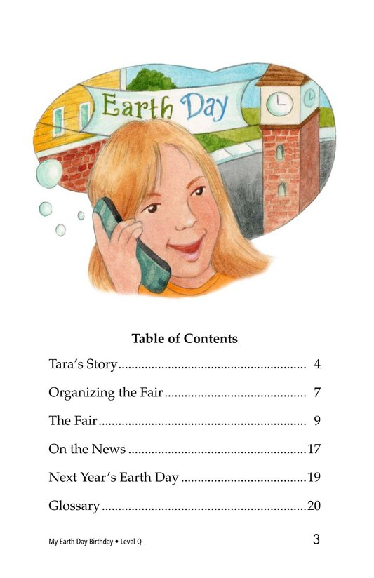 Book Preview For My Earth Day Birthday Page 3