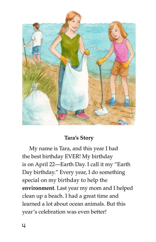 Book Preview For My Earth Day Birthday Page 4