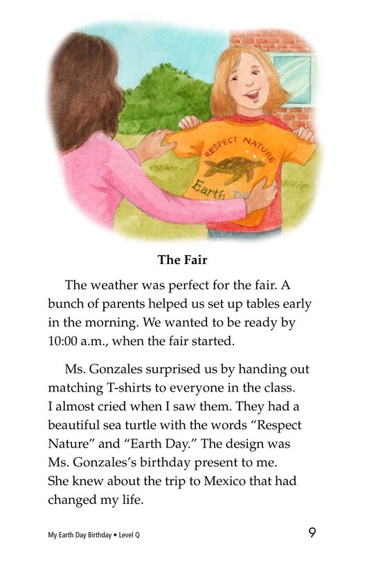 Book Preview For My Earth Day Birthday Page 9
