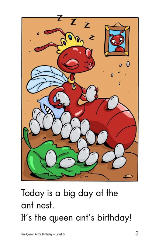 Book Preview For The Queen Ant's Birthday Page 3