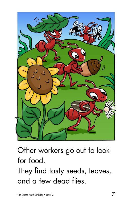 Book Preview For The Queen Ant's Birthday Page 7