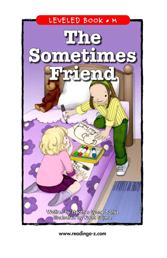 Book Preview For The Sometimes Friend Page 1