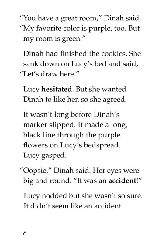 Book Preview For The Sometimes Friend Page 6