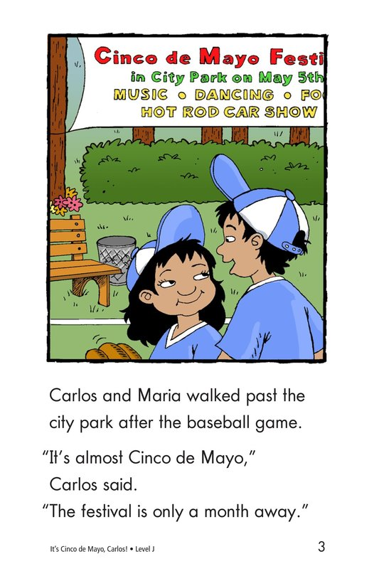 Book Preview For It's Cinco de Mayo, Carlos! Page 3