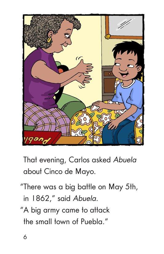 Book Preview For It's Cinco de Mayo, Carlos! Page 6