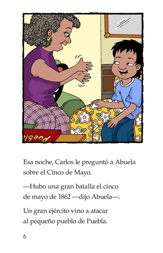 Book Preview For It's Cinco de Mayo, Carlos! Page 6