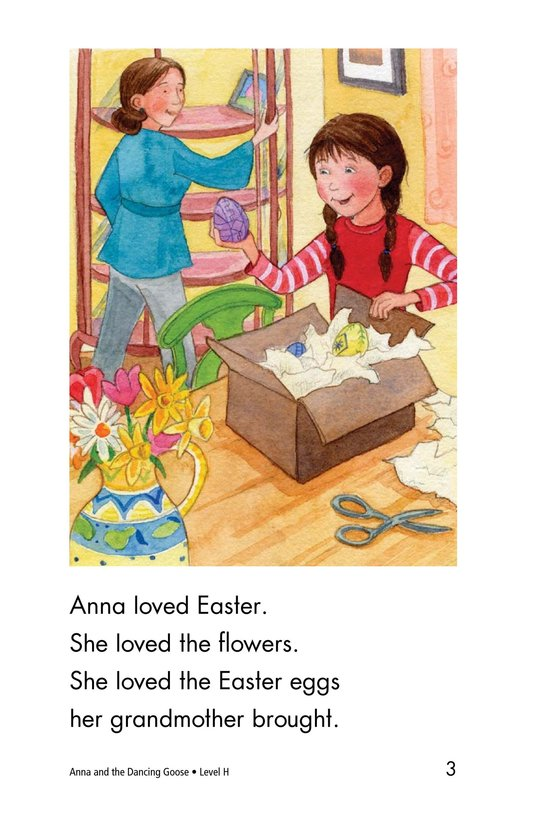 Book Preview For Anna and the Dancing Goose Page 3