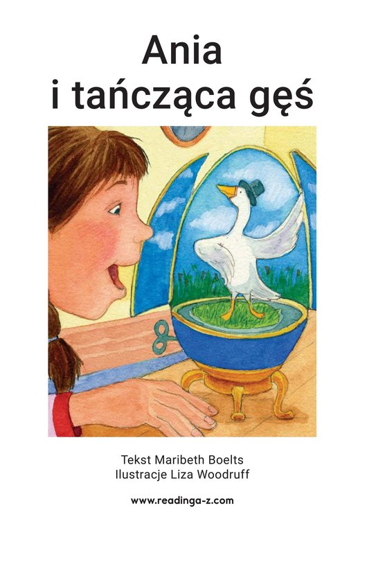 Book Preview For Anna and the Dancing Goose Page 2