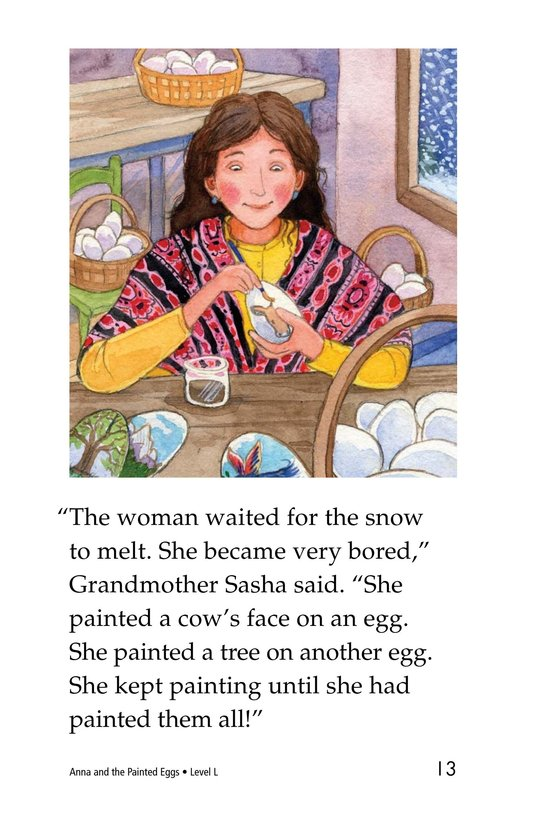 Book Preview For Anna and the Painted Eggs Page 13