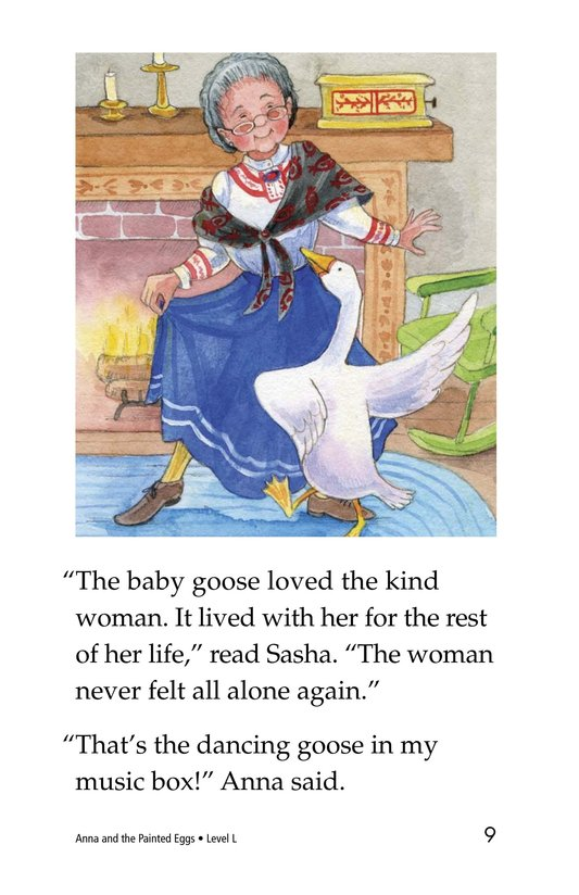 Book Preview For Anna and the Painted Eggs Page 9