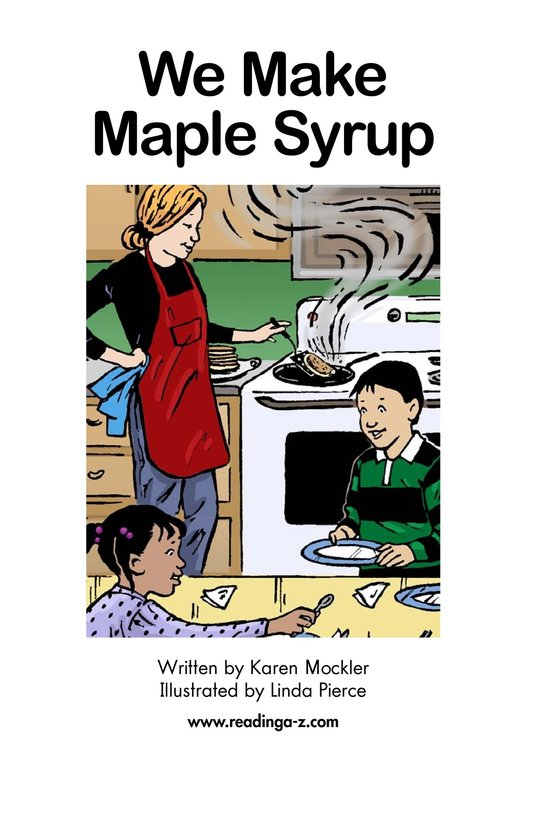 Book Preview For We Make Maple Syrup Page 2