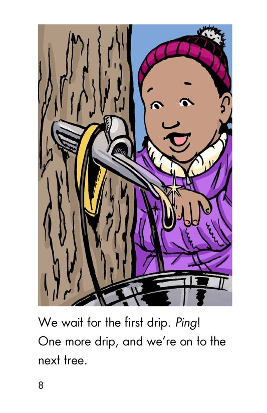 Book Preview For We Make Maple Syrup Page 8
