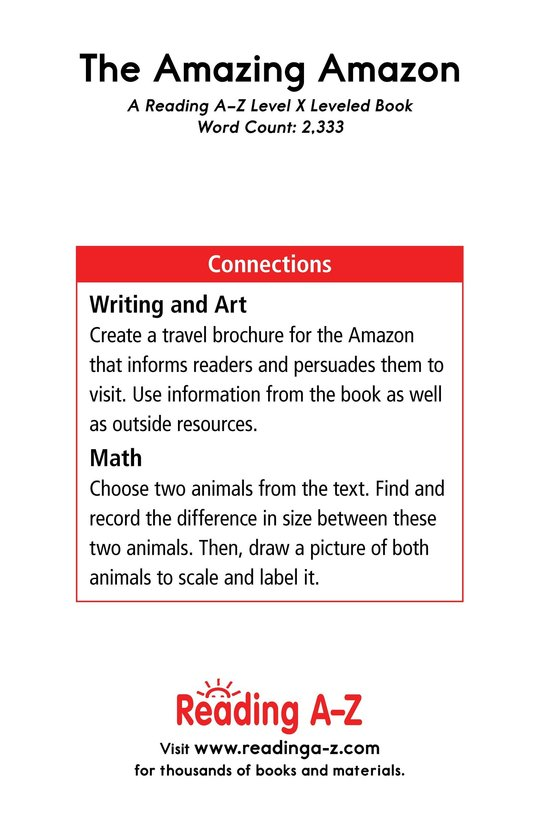 Book Preview For The Amazing Amazon Page 25