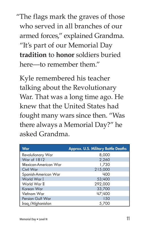 Book Preview For Memorial Day Page 11