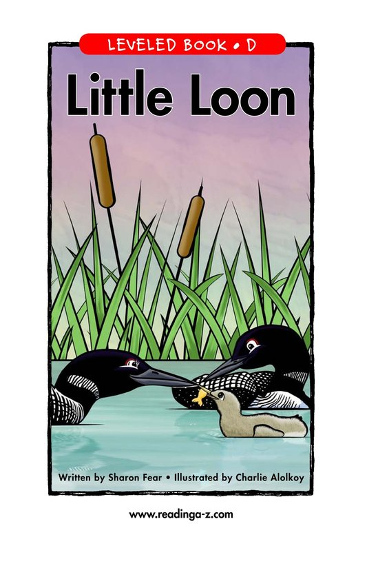 Book Preview For Little Loon Page 1