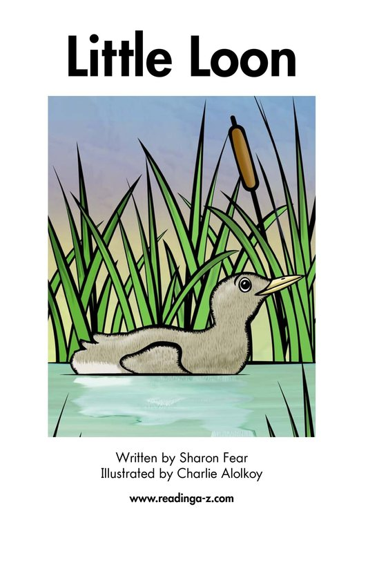 Book Preview For Little Loon Page 2