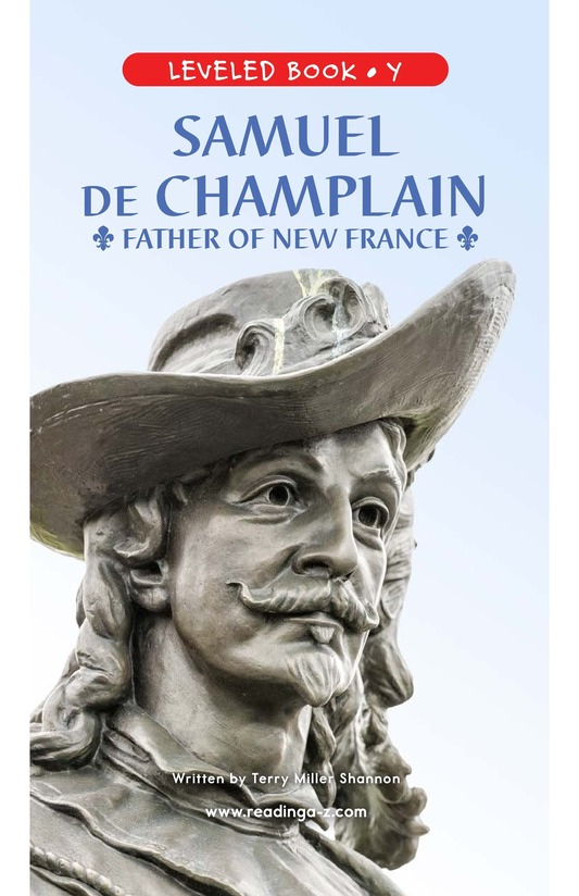Book Preview For Samuel de Champlain, Father of New France Page 1