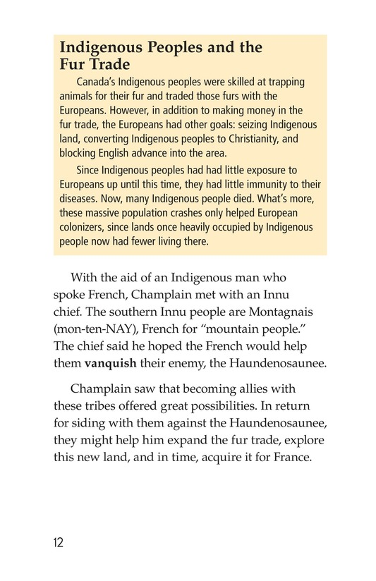 Book Preview For Samuel de Champlain, Father of New France Page 12
