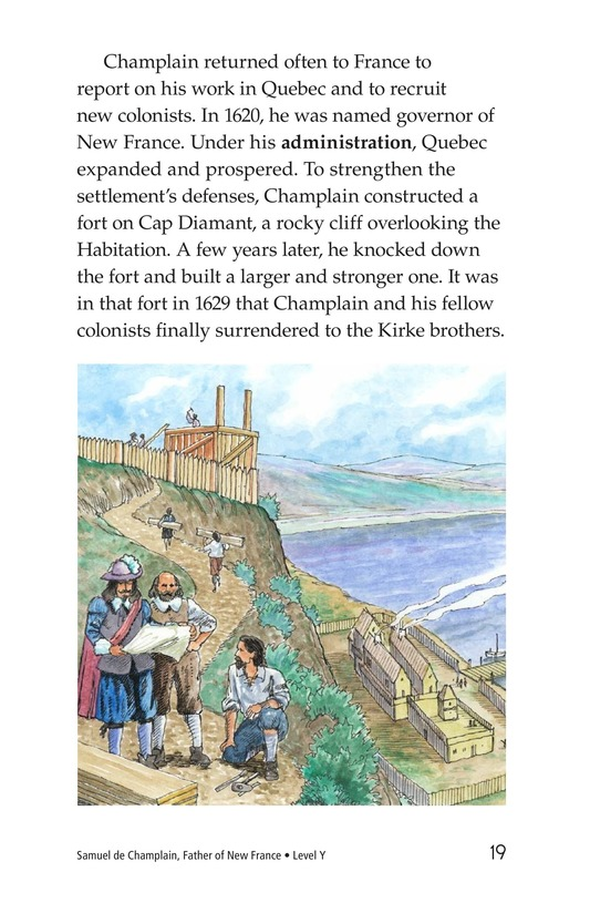 Book Preview For Samuel de Champlain, Father of New France Page 19