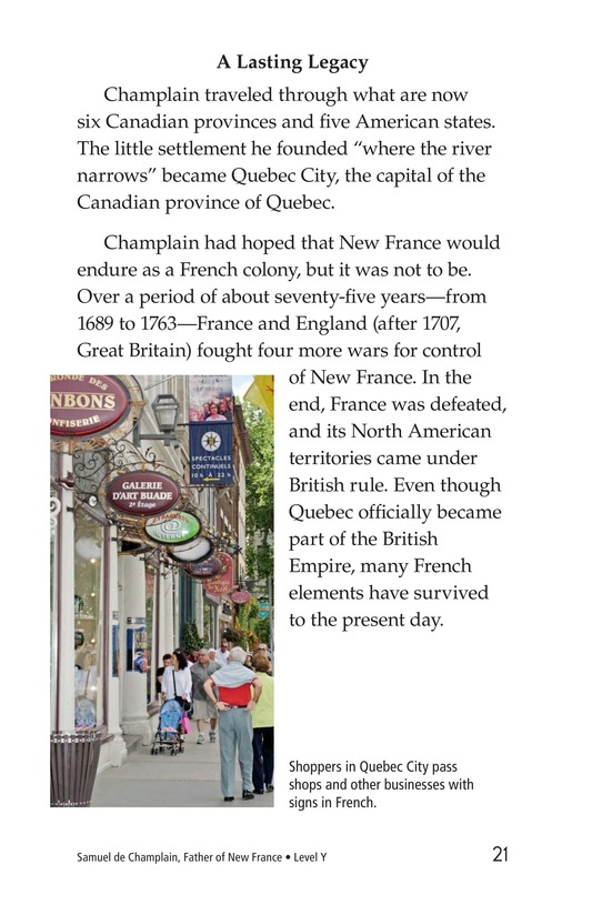 Book Preview For Samuel de Champlain, Father of New France Page 21