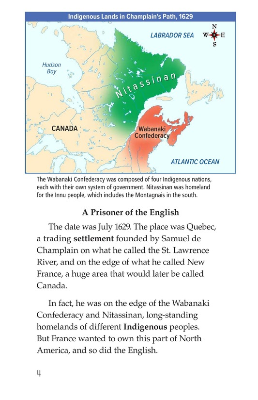 Book Preview For Samuel de Champlain, Father of New France Page 4
