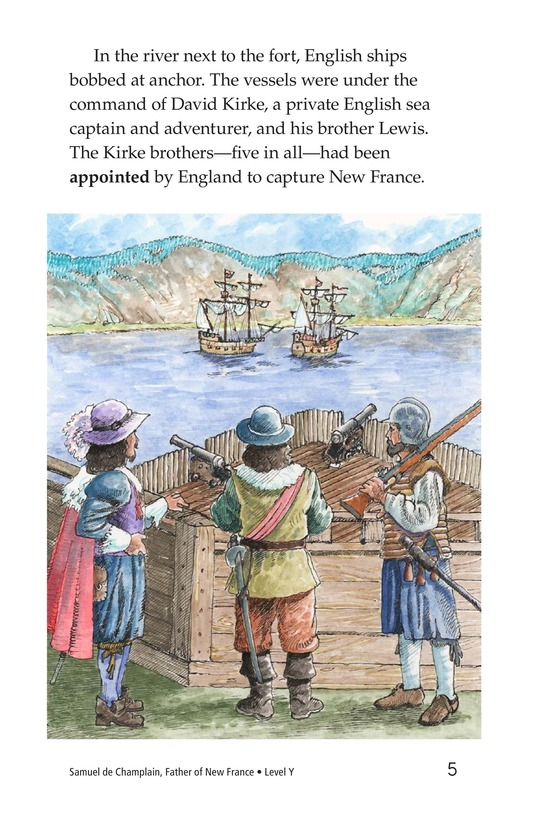 Book Preview For Samuel de Champlain, Father of New France Page 5