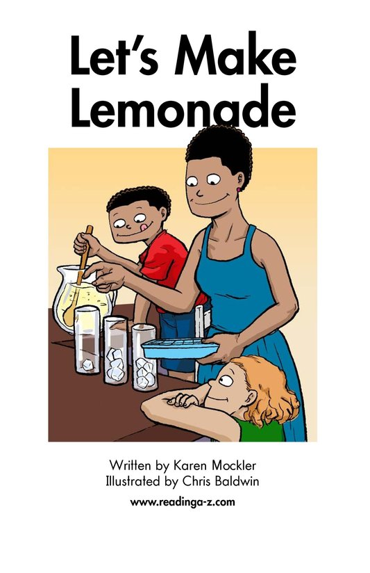 Book Preview For Let's Make Lemonade Page 2