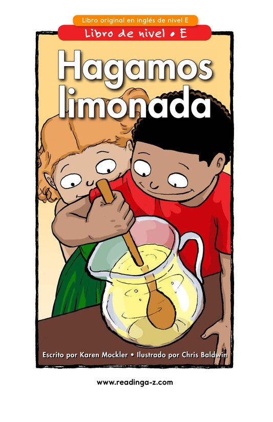 Book Preview For Let's Make Lemonade Page 1