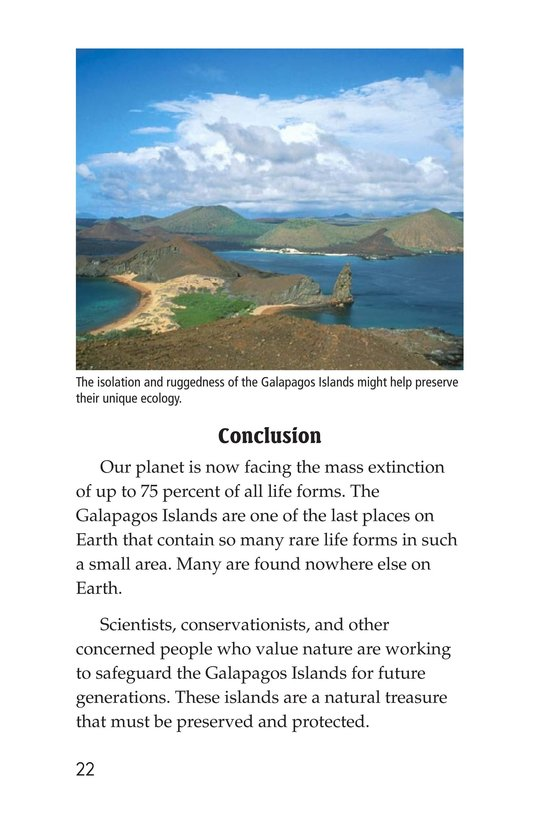 Book Preview For Galapagos Wonder Page 22