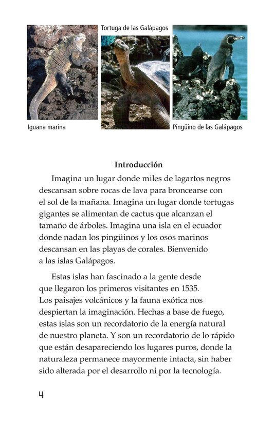 Book Preview For Galapagos Wonder Page 4