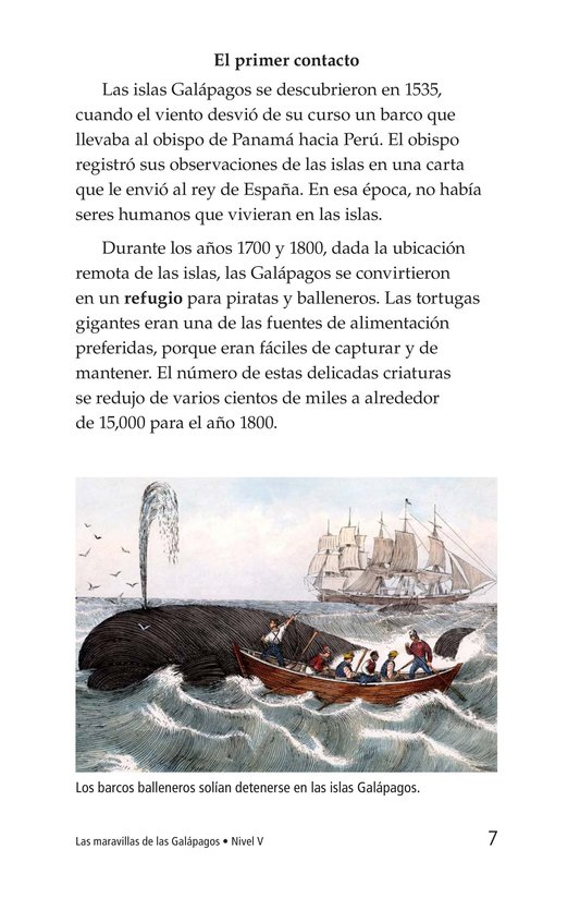 Book Preview For Galapagos Wonder Page 7