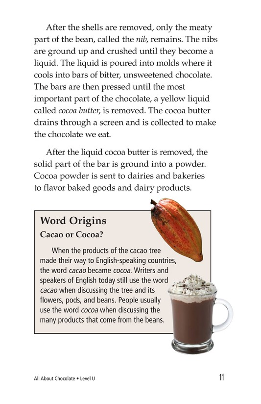 Book Preview For All About Chocolate Page 11