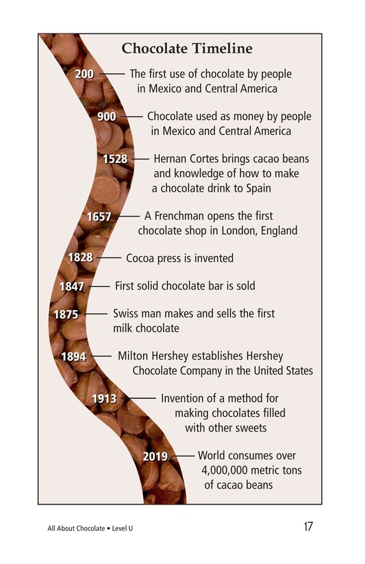 Book Preview For All About Chocolate Page 17