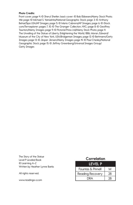 Book Preview For The Story of the Statue Page 2