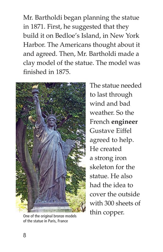 Book Preview For The Story of the Statue Page 8