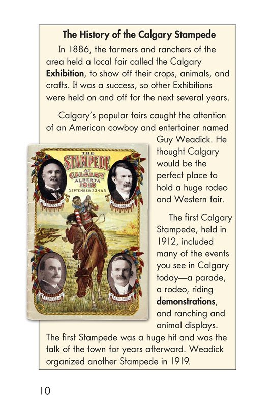 Book Preview For The Calgary Stampede Page 10