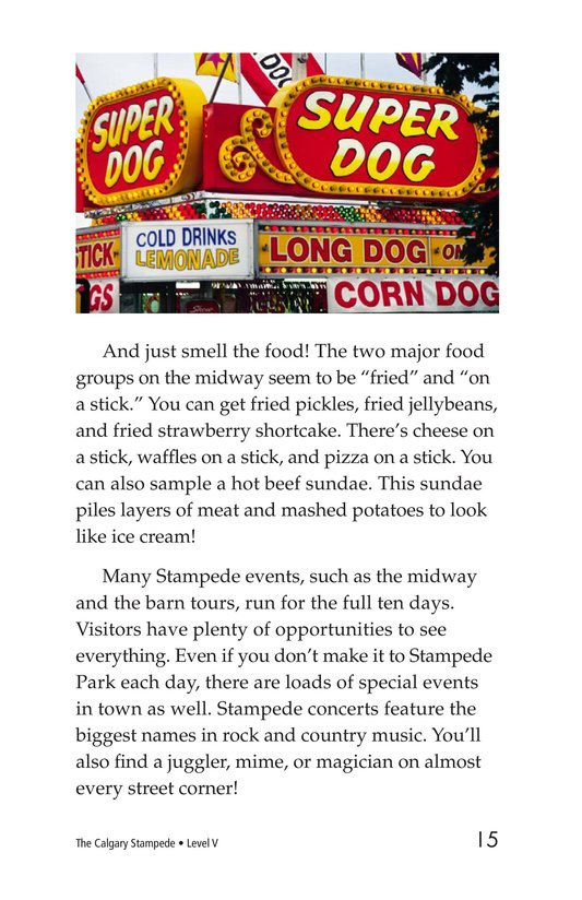 Book Preview For The Calgary Stampede Page 15